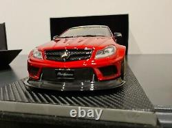 1/18 very rare liberty walk mercedes C63 amg stunning detail, mint condition