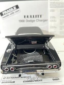 1/24 Danbury Mint 1968 Steve McQueen Bullitt Charger w Papers LOOK! Very Rare
