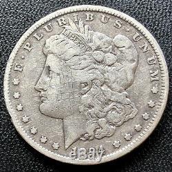 1894 P Morgan Dollar $1 Philadelphia Mint VERY RARE High Grade XF Det. #19528