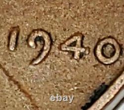 1940 Wheat Penny No Mint Mark Very Rare