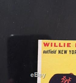 1954 Topps #90 Willie Mays NMMT+! HI END! (VERY RARE MINT CENTERING!) PRISTINE