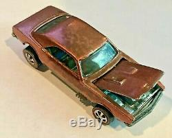 1968 Hot Wheels Redline Custom Camaro VERY RARE US Copper US Near Mint