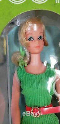 1971 BUSY FRANCIE Barbie Doll withholdin hands Mint Box Vintage 1970's Very Rare