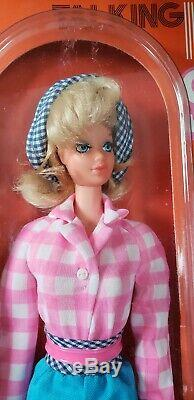 1971 Talking BUSY STEFFIE Barbie Doll Nr Mint Box Vintage 1970's Very Rare New