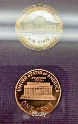 1990 NO S Lincoln Penny Proof Set OGP US Mint VERY RARE