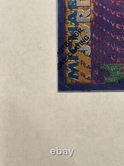 1995-96 TOPPS FINEST ROOKIE/VETERAN MICHAEL JORDAN Very NiceMintRare