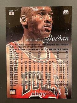1996-97 FLAIR SHOWCASE ROW 1 MICHAEL JORDAN Very NiceMintRare
