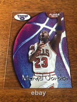 1996-97 FLEER TOTAL O MICHAEL JORDAN Very Nice Mint Rare Grade This One