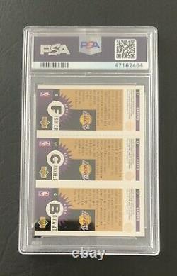 1996 Collector's Choice KOBE BRYANT Gold MINI #L1 PSA 10 GEM MINT VERY RARE