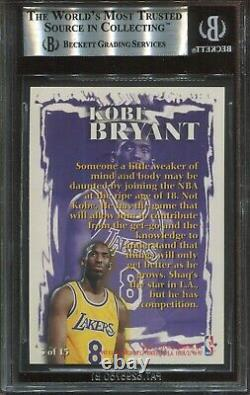 1996 Fleer Rookie Sensations #3 Kobe Bryant Rookie BGS 9 Mint (psa 9) Very Rare