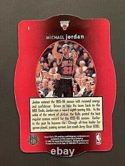 1996 SPX GOLD #8 MICHAEL JORDAN Very NiceMintRare