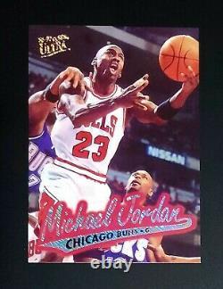 1996 Ultra Platinum Michael Jordan exquisite Bulls Very Rare MINT