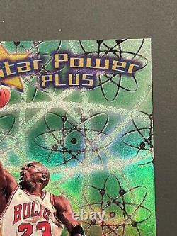 1997-98 FLEER ULTRA STAR POWER PLUS MICHAEL JORDAN Very NiceMintRare