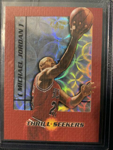 1997-98 Fleer Thrill Seekers Michael Jordan Insert Very Rare Mint Condition