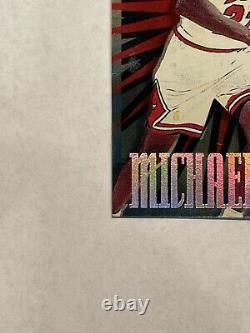1997-98 HOOPS HOOPERSTARS MICHAEL JORDAN DIE CUT Very NiceMintRare