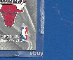 1997-98 Michael Jordan Fleer Ultra Stars #1. Card Is Mint And Very Rare