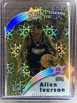 1997-98 Ultra STAR POWER SUPREME #SPS2 Allen Iverson MINT ACETATE VERY RARE