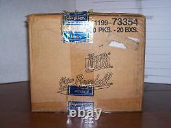 1997 Fleer Ultra Baseball Series 2 Factory Sealed Box 18 Packs Very Rare Fasc