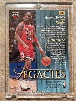 1998-99 TOPPS LEGACIES MICHAEL JORDANVery NiceMintRare