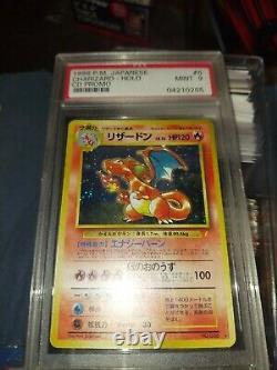 1998 Pokemon Japanese CD Promo Holo Charizard #6 PSA 9 MINT