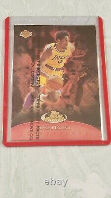1999-00 Topps Finest Team Finest RED Kobe Bryant 260/500 VERY RARE SP