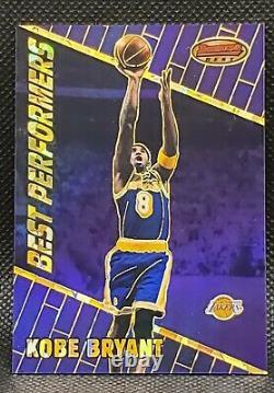 1999-2000 Bowman's Best Kobe Bryant #95 Atomic Refractor #70/100 Very Rare
