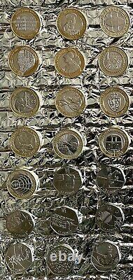 £2 Pound Coin And 50p Piece Coin Collection Job Lot Very Rare Nice Condition