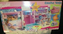 2002 Barbie Tropical Cruise Ship Playset Mattel New Very Rare