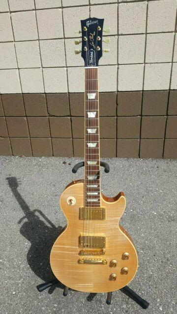 2007 Gibson Les Paul Standard Blonde Beauty Very Rare Limited Run. Mint