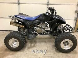 2008 Honda Trx450er Trx450r 450r Mint Very Low Hours Rare Color Must see