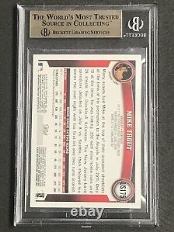 2011 Topps Update BLUE Border Mike Trout #175 Rookie BGS Gem Mint 9.5 VERY RARE