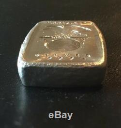 2012 5 oz Daniel Carr Moonlight Mint. 999 Fancy Silver Bar Very Rare Mintage 25