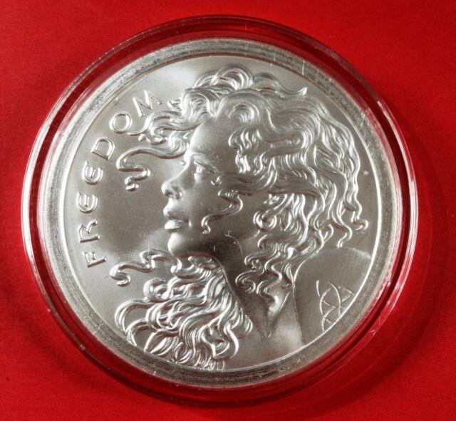 2013 5 Oz Freedom Girl Only 100 Minted Very Rare Brilliant Uncirculated Sbbs