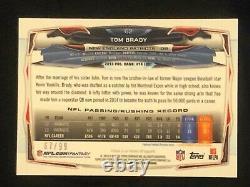 2014 Tom Brady Topps Chrome Sepia Refractor /99 VERY RARE, ONLY 99 MADE