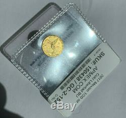 2017 Mexico 1/20 oz 999 Fine Gem BU Gold Libertad ONLY 1000 MINTED VERY RARE