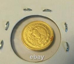 2017 Mexico 1/20 oz 999 Gold Libertad Coin GEM BU Only 1000 Minted Very Rare