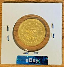 2017 Mexico 1/4 oz 999 Fine Gem BU Gold Libertad ONLY 500 MINTED VERY RARE