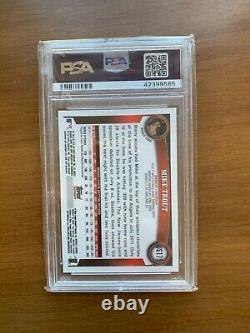 2018 Topps Archives Mike Trout Rookie History #US175 Gem Mint PSA 10 VERY RARE