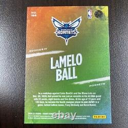 2020-21 Panini Court Kings LAMELO BALL Rookie Level IV 4 SSP VERY RARE