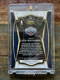 2020-21 Zion Williamson PREMIER LEVEL Tiger Prizm Rare Card Very Few Made