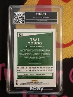 2020 Donruss Choice Trae Young Gold 2/10 HGA 9 MINT THREE 9.5s! Very Rare