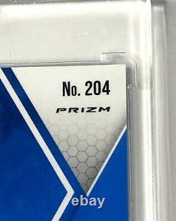 2020 Mosaic Justin Herbert Blue Fluorescent Rookie # To /15 SSP VERY RARE MINT