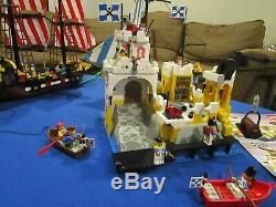 3 set Lot Vintage (1989) LEGO Pirates Ship sets 6274 6276 6285 VERY RARE