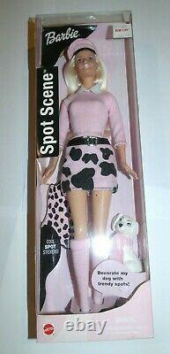 4 Very Rare 2001 Spot Scene Teresa Foreign Barbie Christie SPOT SCENE BARBIE