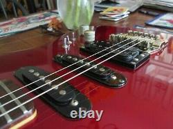80's BC Rich Very Rare. With Factory Kahler, Metallic red, Vintage, mint
