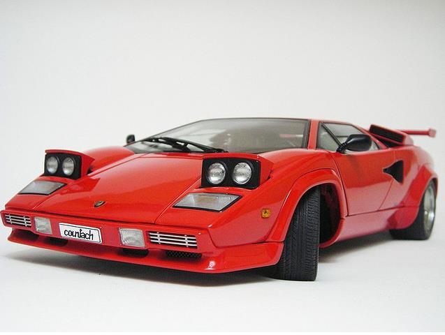 Autoart 118 74531 Lamborghini Countach 5000 S Red Nib Mint Very Rare With Box