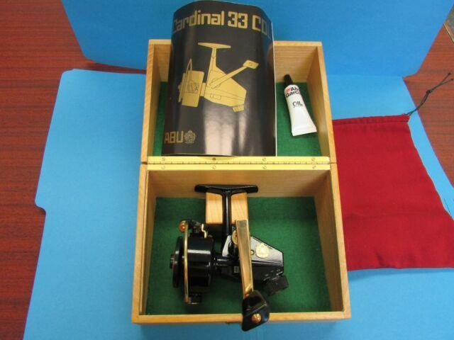Abu Cardinal 33 Cdl Original Release Serial #777 Zebco New Mint Very Rare