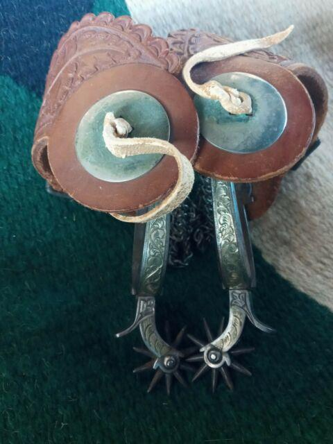 Antique Spurs Mint Condition Appear To Have Never Been Used. Very Rare Find