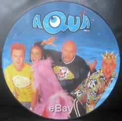 Aqua AQUARIUM 1997 12 Vinyl Picture Disc Mint + Very Rare