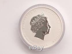 Australia Perth Mint 2008 5 Oz. 999 Silver Lunar Mouse Coin Series II Very Rare